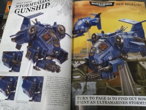 new flyer space marine stormtalon gunship