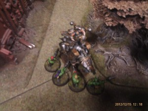 Grots vs Iron Warriors Bike